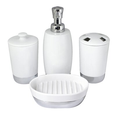 Arora 4-Piece Bathroom Accessory Set BS01-4P-A