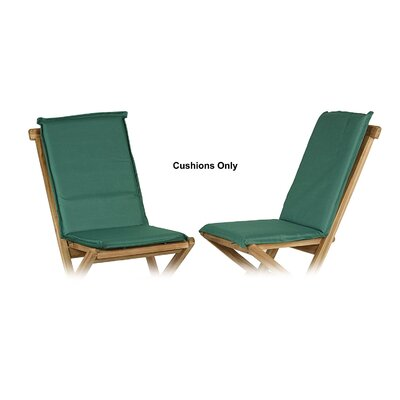 Outdoor Adirondack Chair Cushion Fabric: Green