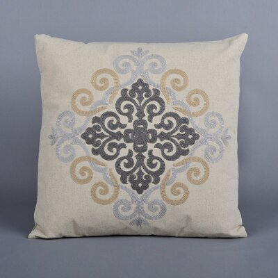 Lizal Embroidered Throw Pillow