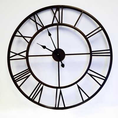 Roman Round Clock in Bronze CL0008RD104