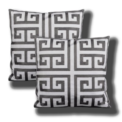 Modern Living Alena Embroidered Throw Pillow
