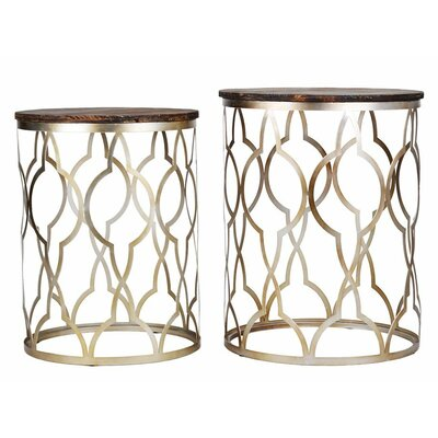Classico 2 Piece End Table Set