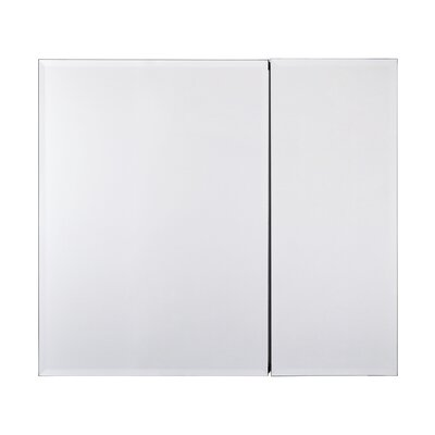 Bi-View Rustproof Beveled 30 x 26 Surface Mount Medicine Cabinet