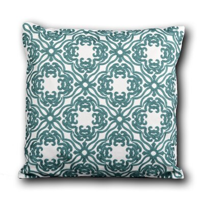Syreeta Embroidered Cotton Throw Pillow