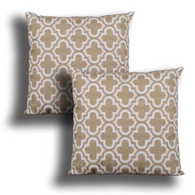 Eastweald Embroidered Throw Pillow Number of Items: 1