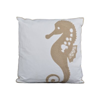 Elliott 100% Cotton Throw Pillow Color: Taupe