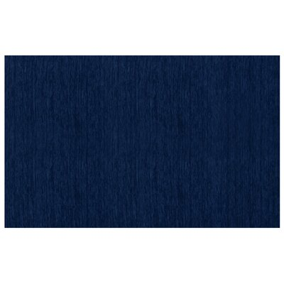 Navy Blue Indoor/Outdoor Area Rug Rug Size: 5 x 7