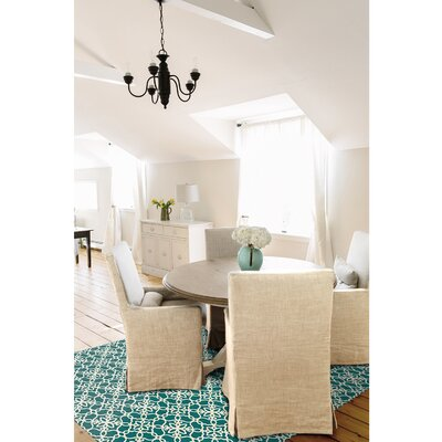 Teal Indoor/Outdoor Area Rug