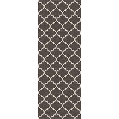 Gray Indoor/Outdoor Area Rug Set Rug Size: Runner 26 x 7