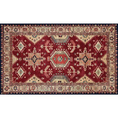 Richfield Ruby Indoor/Outdoor Area Rug Rug Size: 3 x 5