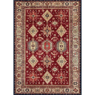 Richfield Ruby Indoor/Outdoor Area Rug Rug Size: 5 x 7