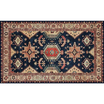 Richfield Sapphire Indoor/Outdoor Area Rug Rug Size: 3 x 5