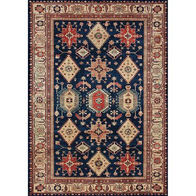Richfield Sapphire Indoor/Outdoor Area Rug Rug Size: 5 x 7