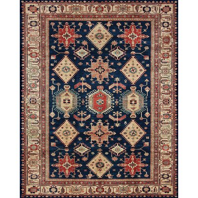 Richfield Sapphire Indoor/Outdoor Area Rug Rug Size: 8 x 10