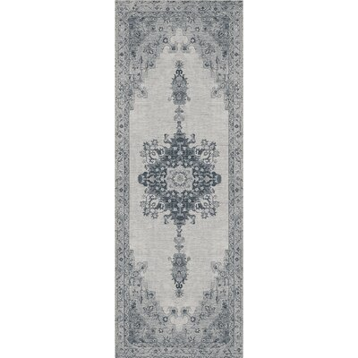 Parisa Gray Indoor/Outdoor Area Rug Rug Size: Runner 26 x 7