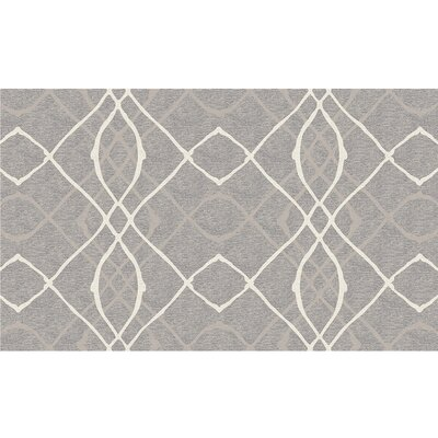 Amara Gray Indoor/Outdoor Area Rug Rug Size: 3 x 5