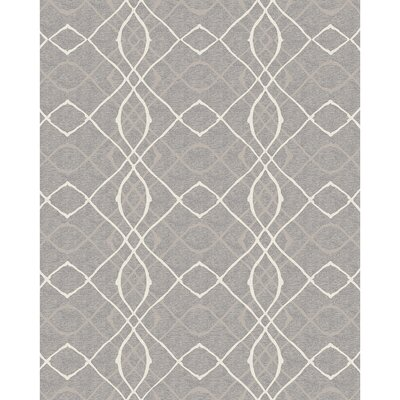 Amara Gray Indoor/Outdoor Area Rug Rug Size: 8 x 10