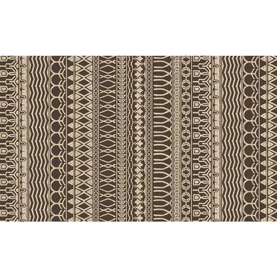 Cadiz Espresso Indoor/Outdoor Area Rug Rug Size: 3 x 5