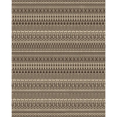 Braylin Espresso Indoor/Outdoor Area Rug Rug Size: 8 x 10