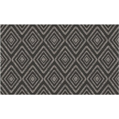 Black Indoor/Outdoor Area Rug Rug Size: 3' x 5'