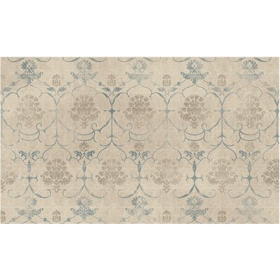 Leyla Creme Indoor/Outdoor Area Rug Rug Size: 3 x 5