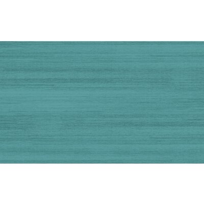 Solid Textured Ocean Blue Indoor/Outdoor Area Rug Rug Size: 3' x 5'