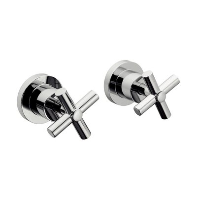 Sorrento 8 x 2.6 Two Handle Concealed Shower Mixer Kit