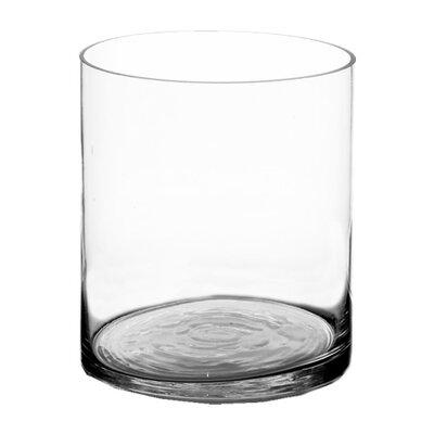 "Skillman Glass Cylinder Vase Size: 12"" H x 10"" W x 10"" D LDER6106 42915792"