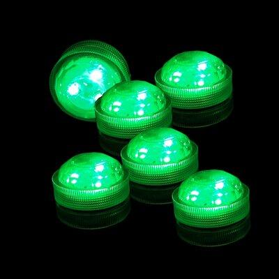 Floral LED Light Color: Green