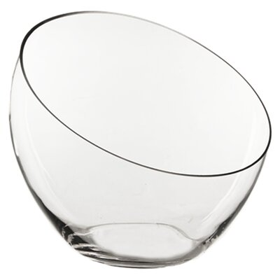 Slant Cut Decorative Bowl Size: 11 H x 12 W x 12 D