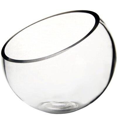 "Half Cut Slant Bowl Size: 9"" H x 10"" W x 10"" D GCU064"