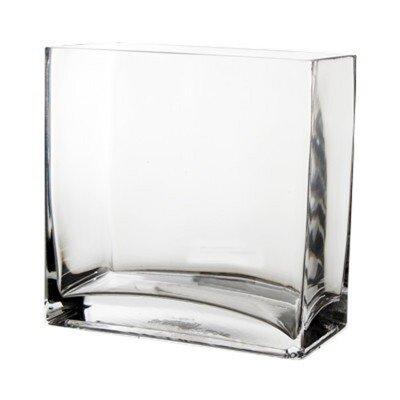 Glass Rectangle Vase GCB067/08-1P