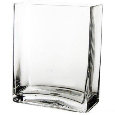 Glass Rectangle Vase GCB067/10-1P