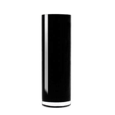 Hand Blown Glass Cylinder Vase GCY108BK-4P