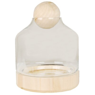 Glass Cloche Jar Round Terrarium GCU201-6P