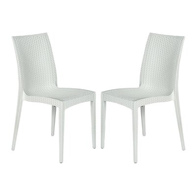 Mace Side Chair Finish: White