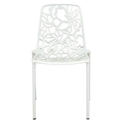 Devon Side Chair Finish: White