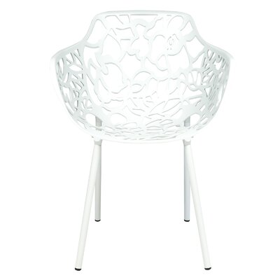 Devon Arm Chair Finish: White