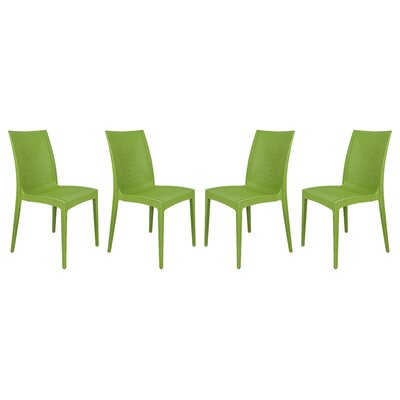 Mace Side Chair Finish: Green