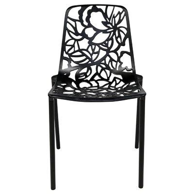 Devon Side Chair Finish: Black
