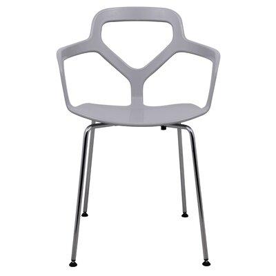 Carney Arm Chair Finish: Light Gray