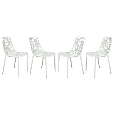 Devon Side Chair Finish: White