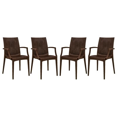 Mace Arm Chair Finish: Brown