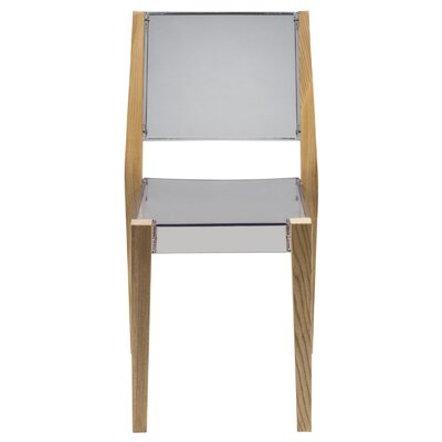 Barker Solid Wood Dining Chair Finish: Transparent Clear