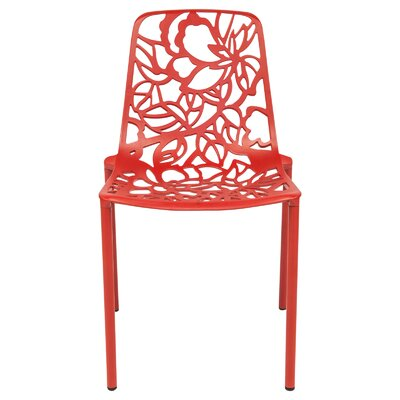 Devon Side Chair Finish: Red