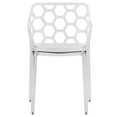 Dynamic Side Chair Finish: Transparent Clear