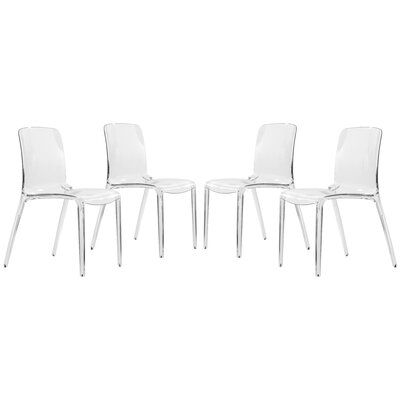 Murray Side Chair Finish: Transparent Clear