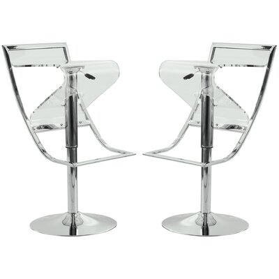 Napoli Adjustable Height Swivel Bar Stool