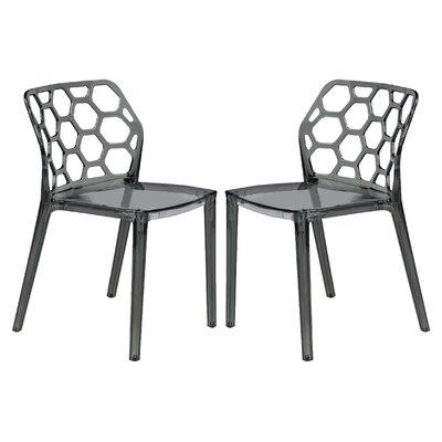 Dynamic Side Chair Finish: Transparent Black