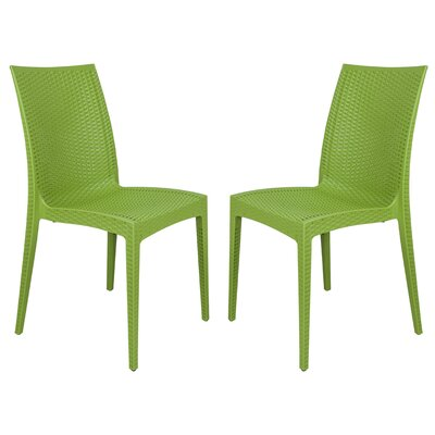 Mace Side Chair Finish: Green